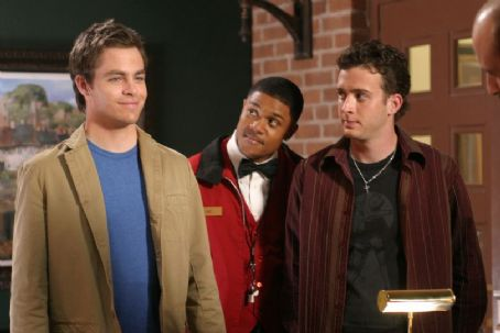Eddie Kaye Thomas Chris Pine as Danny and  as Larry in Blind Dating - 2007