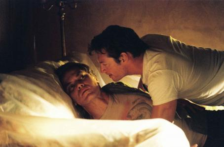 Michael Shannon Peter Evans () and Jerry Goss (Harry Connick, Jr.) in BUG. Photo credit: Anthony Friedkin