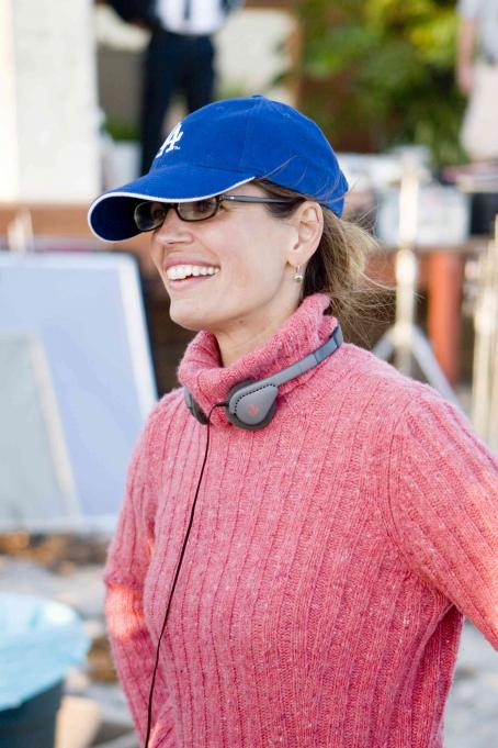 Susannah Grant Director/Screenwriter  on the set of Columbia Pictures' Catch and Release. Photo Credit : Mark Fellman.