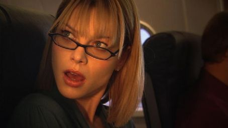 Lauren German  star as Mary on the Plane to Texas