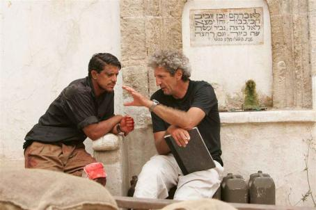 O Jerusalem Said Taghmaoui as Said Chahine and Elie Chouraqui as Isaac Roth in O JERUSALEM. Copyright © 2006 Samuel Goldwyn Films. All rights reserved.