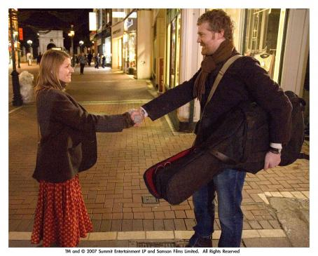 Glen Hansard From Left: Marketa Irglova and  in ONCE