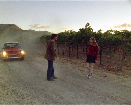 Amber Benson Nathan (Cole Williams) and Maggie () on the side of road in Race You to the Bottom - 2007