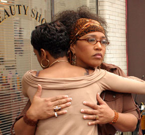 Kym Whitley  as Lashaunna in The Salon