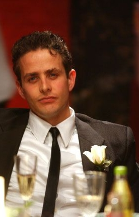 Tony 'n' Tina's Wedding Joey McIntyre star as Tony in Tony 'n' Tina's Wedding.