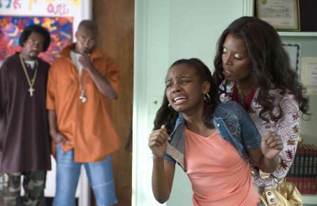 Sierra Aylina McClain Sierra (Sierra McClain) and Jennifer (Tasha Smith) in TYLER PERRY'S DADDY'S LITTLE GIRLS. Photo credit: Alfeo Dixon