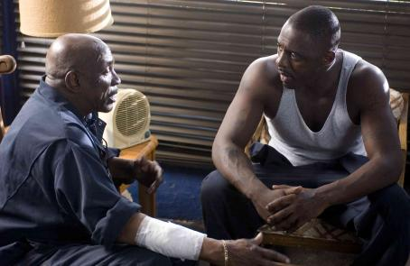 Louis Gossett Jr. Willie (Louis Gossett, Jr.) and Monty (Idris Elba) in TYLER PERRY'S DADDY'S LITTLE GIRLS. Photo credit: Alfeo Dixon