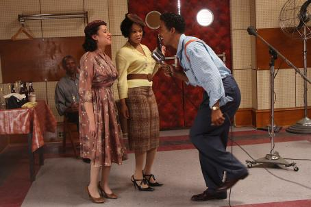 (Right) Columbus Short as 'Little Walter' in Sony BMG Film, Parkwood Pictures and Tristar Pictures' drama CADILLAC RECORDS. Photo credit: Eric Liebowitz. © 2008 Sony BMG Film. All rights reserved.