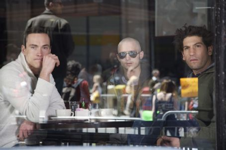 Day Zero George (Chris Klein), Aaron (Elijah Wood) and James (Jon Bernthal) in .