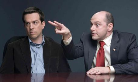 "Ed Helms  (left) stars as the ""Interpreter"" and Rob Coddry (right) stars as ""Ron Fox"" in New Line Cinema's release HAROLD AND KUMAR ESCAPE FROM GUANTANAMO BAY. Photo Credit: Jaimie Trueblood/New Line Cinema"