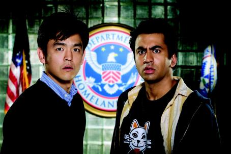 "John Cho  (left) stars as ""Harold"" and Kal Penn (right) stars as ""Kumar"" in New Line Cinema's release HAROLD AND KUMAR ESCAPE FROM GUANTANAMO BAY. Photo Credit: Jaimie Trueblood/New Line Cinema"