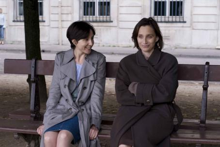 Elsa Zylberstein Left to Right:  as Lea, Kristin Scott Thomas as Juliette. Photo by Thierry Valletoux, © 2008, Courtesy of Sony Pictures Classics. All Rights Reserved.