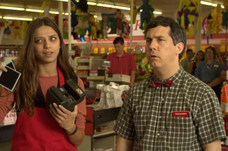 Chris Parnell Angela Sarafyan as Ramona and  as Frank in Regent Releasing comedy 'Kabluey.'