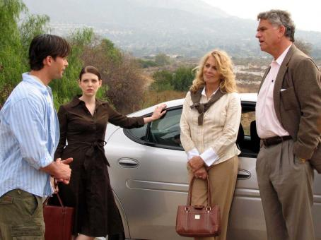 Amber Benson James O'Shea as Ryan,  as Elly, Joanna Cassidy as Evelyn and Garrett M. Brown as Gerald in Kiss the Bride.