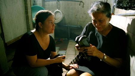 Gina Pareño Jacklyn Jose as Nayda and  as Nanay stars in drama 'SERBIS'