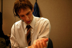 Joel David Moore Joel Moore star as Mason in drama thriller 'Spiral.'