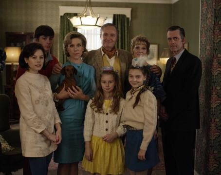 Juliet Stevenson Back row from left to right: Matthew Beard as young Blake,  as Kim, Jim Broadbent as Arthur, Sarah Lancashire as Beaty and Robert Angell as Uncle Sam. Front row from left to right: Elaine Cassidy as Sandra, Tilly Curtis as Josie and Tara B