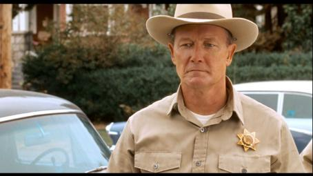 Robert Patrick  as Officer Vernon in ALIEN TRESPASS, directed by R.W. Goodwin. Courtesy of Roadside Attractions