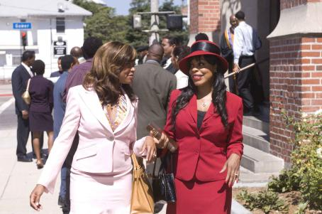 Niecy Nash Taraji P. Henson as 'Clarice Clark' and  as 'Michelle' in TriStar Pictures' drama NOT EASILY BROKEN. Photo By: Ron Phillips