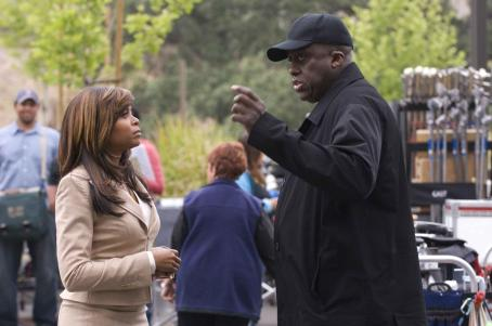 Bill Duke Taraji P. Henson and Director  on the set of TriStar Pictures' drama NOT EASILY BROKEN. Photo By: Ron Phillips
