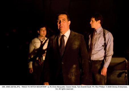 Ciarán Hinds (L-R) Chris Marquette, Ciaran Hinds, Tom Everett Scott. Ph: Ron Phillips © 2008 Disney Enterprises, Inc. All rights reserved.