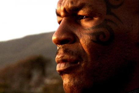 Mike Tyson . Photo taken by Larry McConkey, Courtesy of Sony Pictures Classics.