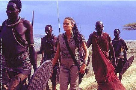 Lara Croft Angelina Jolie as  in Paramount's  Tomb Raider: The Cradle of Life - 2003