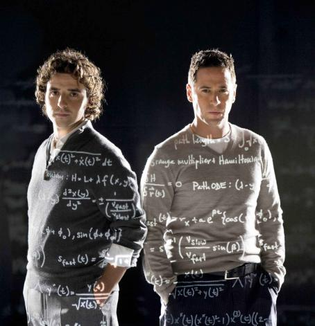 Numb3rs David Krumholtz as Charlie Eppes and Rob Morrow as Don Eppes in drama mystery thriller '.'