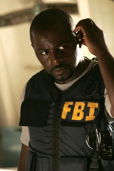 Alimi Ballard  star as David Sinclair in creator Cheryl Heuton and Nicolas Falacci mystery thriller 'Numb3rs.'