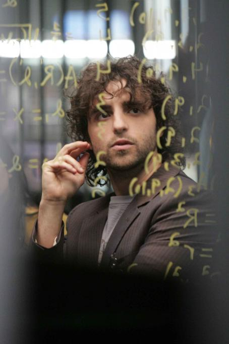 Numb3rs David Krumholtz star as Charlie Eppes in .