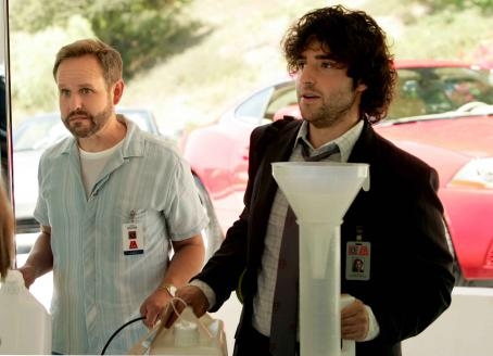 Numb3rs Right: David Krumholtz star as Charlie Eppes in .