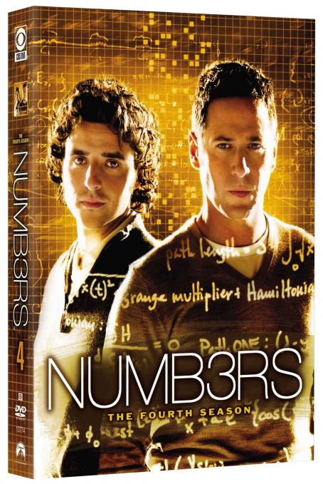 Numb3rs  DVD 3D
