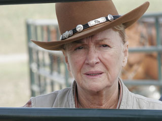 Diane Ladd  portrays Bess, the ranch's meddling Irish cook, who enjoys playing matchmaker.