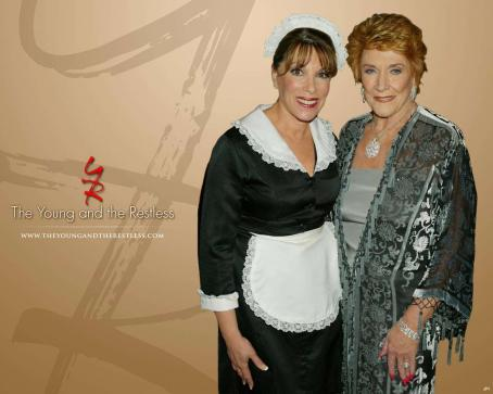 Jeanne Cooper The Young and the Restless (TV Series) Wallpaper