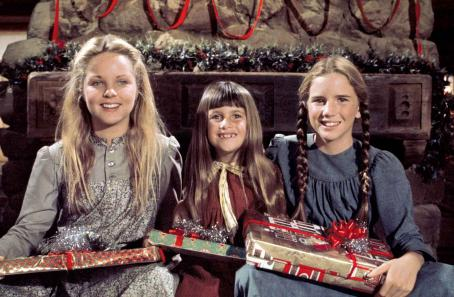 Sidney Greenbush Melissa Sue Anderson ('Mary Ingalls,' left),  ('Carrie Ingalls,' center) and Melissa Gilbert ('Laura Ingalls,' right) star in Lionsgate Home Entertainment's Little House on the Prairie The Complete Television Se