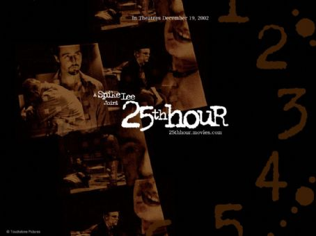 25th Hour Touchstone's  - 2002