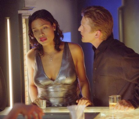 25th Hour Rosario Dawson and Barry Pepper in Touchstone's  - 2002