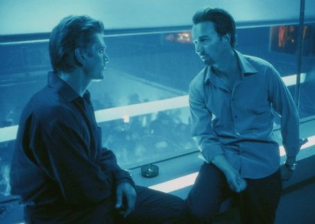 25th Hour Barry Pepper and Edward Norton in Touchstone's  - 2002