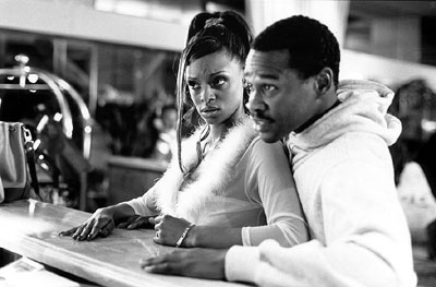 N'Bushe Wright N'Bushe Wright and Brian Hooks in MGM's 3 Strikes - 2000