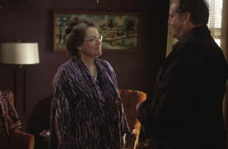About Schmidt Kathy Bates and Jack Nicholson in New Line's  - 2002