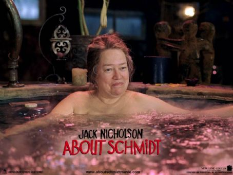 About Schmidt Kathy Bates in New Line's  - 2002
