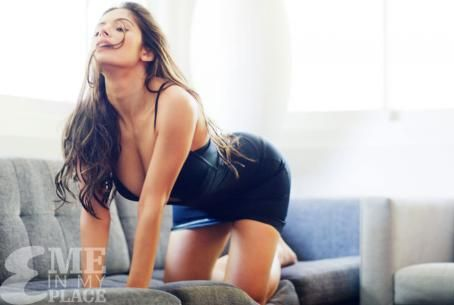 Sarah Shahi - Me in My Place Photoshoot for Esquire Magazine