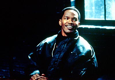 Jamie Foxx  as Alvin Sanders in Warner Bros/Castle Rock's Bait - 2000
