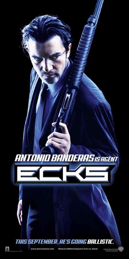 Ballistic: Ecks vs. Sever Antonio Banderas in Warner Brothers' Ballistic: Ecks Vs. Sever - 2002