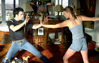 Troy Garity  and January Jones in MGM's Bandits - 2001