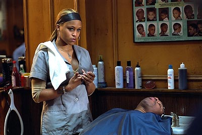 Eve  in MGM's Barbershop - 2002