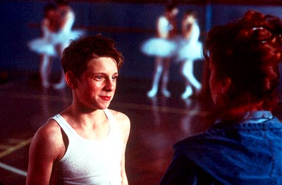 Billy Elliot 's (Jamie Bell) raw talent for dancing awakens Mrs. Wilkinson's (Julie Walters) zest for teaching in Universal's  - 2000