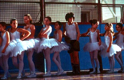 Billy Elliot  (Jamie Bell) has an unexpected love of dance that helps him to overcome poverty and prejudice and achieve his dreams in Universal's  - 2000