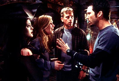 Jeffrey Donovan Kim Director, Tristen Skyler, Stephen Barker Turner and  in Artisan's Book of Shadows: Blair Witch 2 - 2000