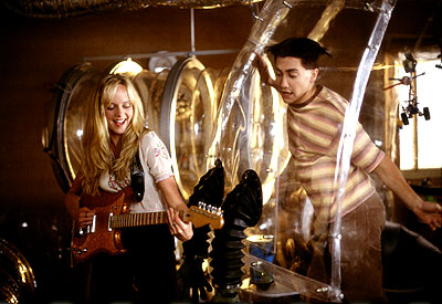 Bubble Boy Marley Shelton and Jake Gyllenhaal in Touchstone's  - 2001